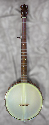Maple and Claro Walnut Open Back Banjo